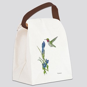 Rocky Mountain Hummer Canvas Lunch Bag