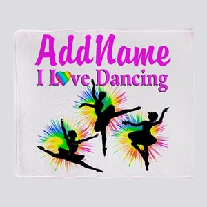 DANCER DREAMS Throw Blanket