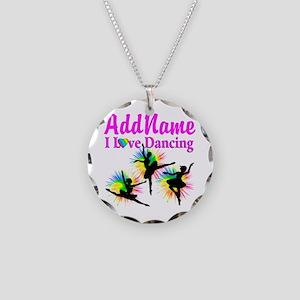 DANCER DREAMS Necklace Circle Charm