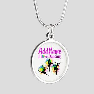 DANCER DREAMS Silver Round Necklace