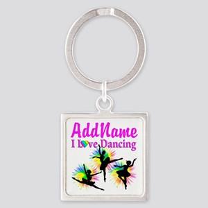 DANCER DREAMS Square Keychain