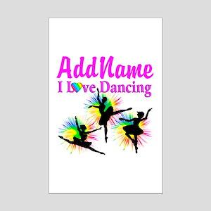 DANCER DREAMS Mini Poster Print