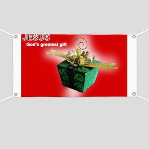 God's greatest gift Banner