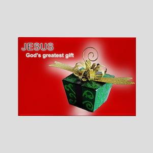God's greatest gift Magnets