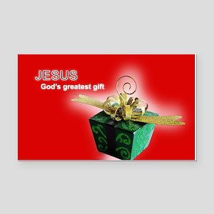 God's greatest gift Rectangle Car Magnet
