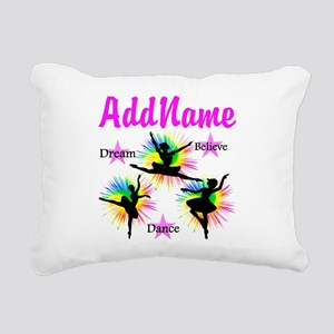 DANCER DREAMS Rectangular Canvas Pillow