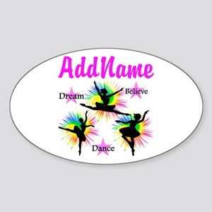 DANCER DREAMS Sticker (Oval)