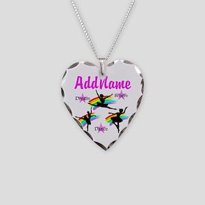 DANCER DREAMS Necklace Heart Charm