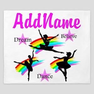 DANCER DREAMS King Duvet