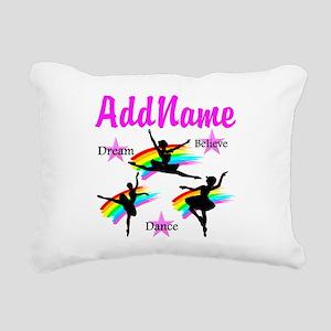 DANCER DREAMS Rectangular Canvas Pillow