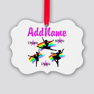DANCER DREAMS Picture Ornament