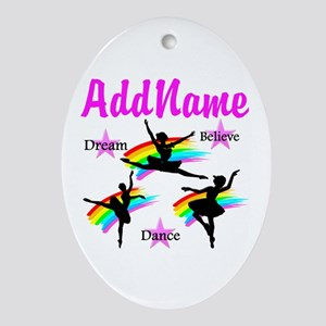DANCER DREAMS Ornament (Oval)
