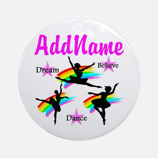 DANCER DREAMS Ornament (Round)