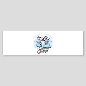 Snowmen Have Needs Too Bumper Sticker