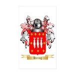 Hering Sticker (Rectangle 10 pk)