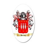 Hering 20x12 Oval Wall Decal