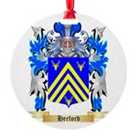 Herford Round Ornament