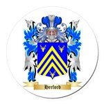 Herford Round Car Magnet