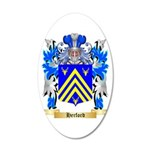 Herford 20x12 Oval Wall Decal