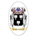 Hereman Sticker (Oval 50 pk)