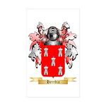 Heredia Sticker (Rectangle 50 pk)