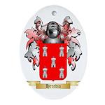 Heredia Ornament (Oval)