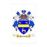 Herdman Sticker (Rectangle 50 pk)