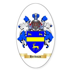 Herdman Sticker (Oval 10 pk)
