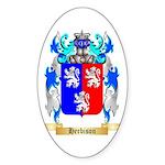 Herbison Sticker (Oval 50 pk)