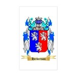 Herbertson Sticker (Rectangle)