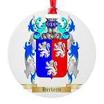 Herberte Round Ornament