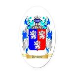 Herberte Oval Car Magnet