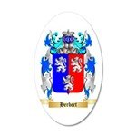 Herbert 35x21 Oval Wall Decal
