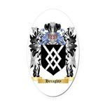 Heraghty Oval Car Magnet