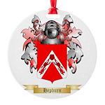 Hepburn Round Ornament