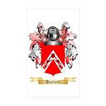 Hepburn Sticker (Rectangle 50 pk)