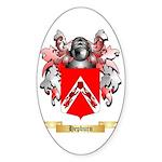 Hepburn Sticker (Oval 10 pk)