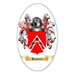 Hepburn Sticker (Oval 50 pk)