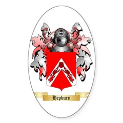 Hepburn Sticker (Oval 50 pk)