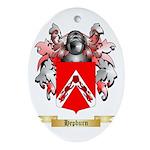 Hepburn Ornament (Oval)