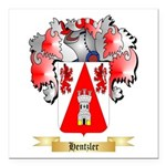 Hentzler Square Car Magnet 3