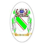 Henty Sticker (Oval 10 pk)