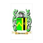 Henthorn Sticker (Rectangle 10 pk)
