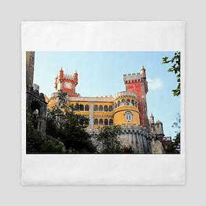 Pena Palace, Sintra, near Lisbon, Port Queen Duvet