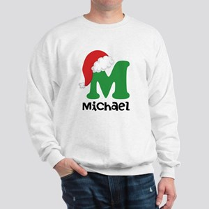 Christmas Santa Hat M Monogram Sweatshirt