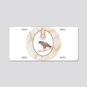 Red-tailed hawk Aluminum License Plate