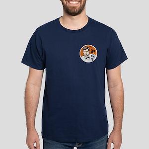 JFK Recipe Dark T-Shirt