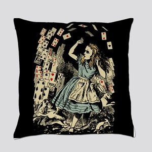 vintage-alice-cards-flying_b Master Pillow