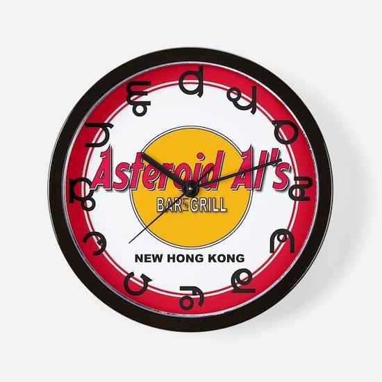 Asteriod Al Wall Clock