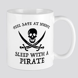 Sleep With A Pirate Mug